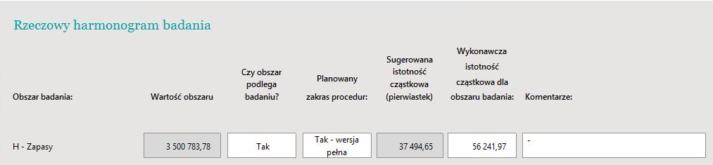 DATEV Audit: Dokument przewodni – planowanie badania