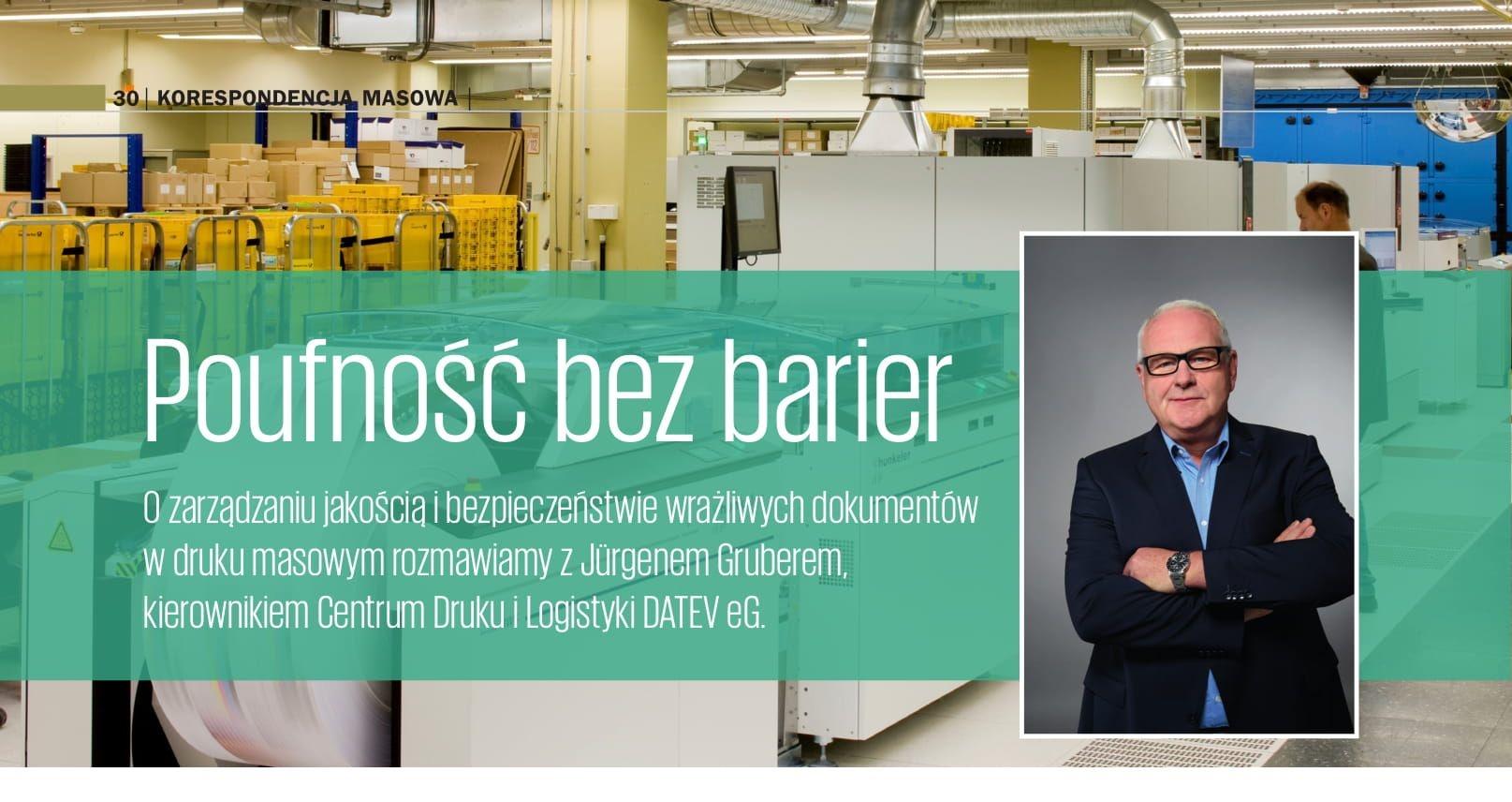 O zarządzaniu jakością i bezpieczeństwie wrażliwych dokumentów w druku masowym