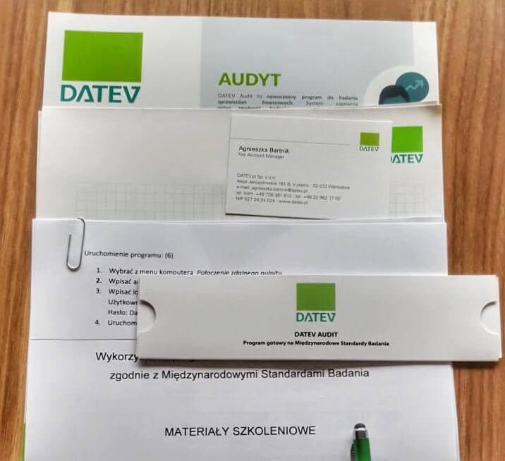 warsztaty z DATEV Audit